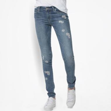 Levi's 711 18881-0276 Skinny Moraga Blues Celana Jeans Wanita - Blue