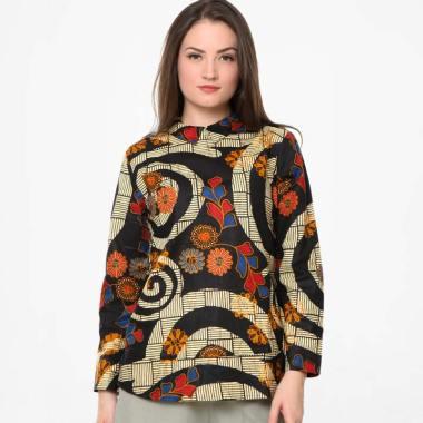 Batik Agrapana Sujiwati Print Blouse Batik Wanita 2e192f35ca