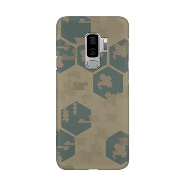 Indocustomcase Army Camoflauge Patt ... or Samsung Galaxy S9 Plus