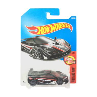 Hot Wheels Mclaren F1 GTR Diecast - Hitam