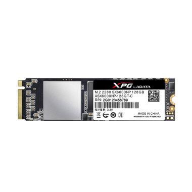 ADATA XPG SX6000NP PCIe Gen3x2 M.2  ... l Storage - Black [128GB]