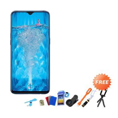 OPPO F9 Pro Smartphone [64 GB/ 6 GB] + Free 10 Aksesoris Handphone