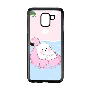 harga Bunnycase Cute Polar Bear Summer LI0215 Custom Hardcase Casing for Samsung Galaxy J6 2018 Blibli.com