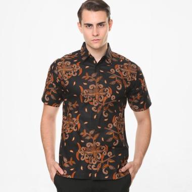 Batik Agrapana Adwitiya Batik Print Kemeja Pria