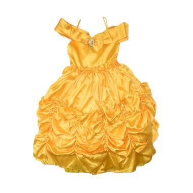 Queen Costume Princess Belle Sewa Kostum Anak - Kuning [Jadetabek]