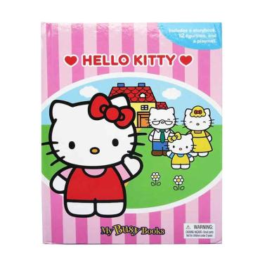 Phidal My Busy Book Hello Kitty Buku Edukasi Anak