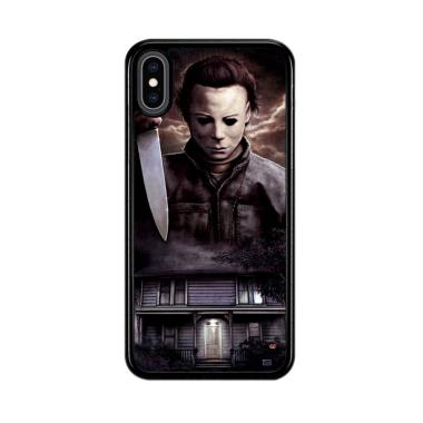 harga Flazzstore Michael Myers Halloween Z1319 Premium Casing for iPhone XS Blibli.com