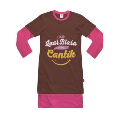 Hoofla Kids GK01 Tanpa Hijab Gamis Kaos Anak Perempuan