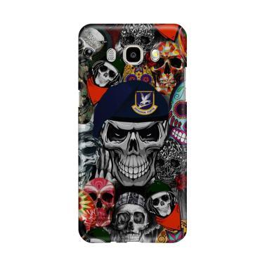 harga Indocustomcase Army Skull Sticker Bomb Cover Casing for Samsung Galaxy J7 2016 Blibli.com