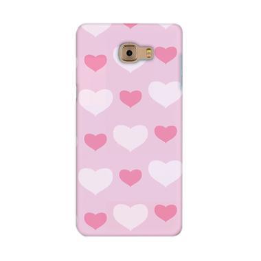 Premiumcaseid Cute Love Shabby Chic Cover Hardcase Casing for Samsung Galaxy C9 Pro