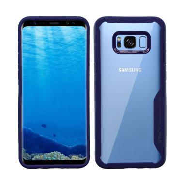 Ipaky Hybrid HD Acrylic Softcase Casing for Samsung Galaxy s8 Plus