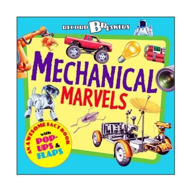 harga Templar Record Breakers: Mechanical Marvels An Awesome Fact Book with Pop-ups Buku Anak Blibli.com