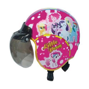 Broico Motif Pilot Little Pony Helm Anak [Usia 7-10 .