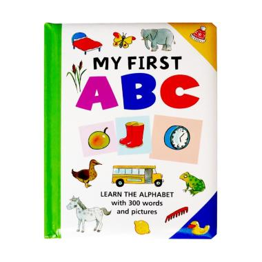 harga Genius Baby Genius My First ABC Learn The Alphabet with 300 Words and Pictures Buku Anak Blibli.com