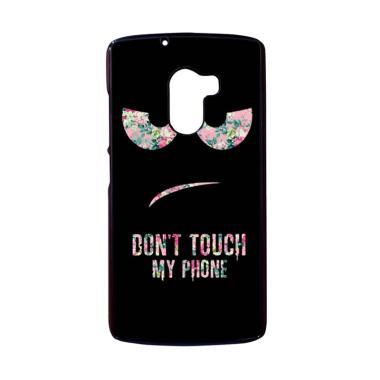 harga Bunnycase Dont Touch My Phone Flower L0007 Custom Hardcase Casing for Lenovo K4 Note/ A7010/ Vibe X3 Lite Blibli.com