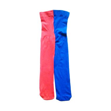 Kids Fashion Rainbow 2 Tone Stocking Anak