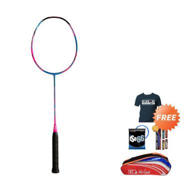 Hi-Qua Aeronetik Raket Badminton + Free Tas + Kaos + Senar + Grip [9000]