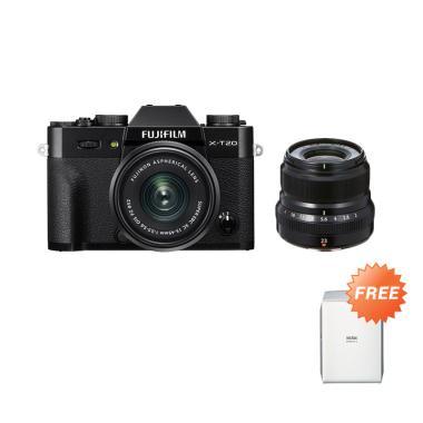 harga Fujishopid Bali - Fujifilm X-T20 XC 15-45mm Kit Kamera Mirrorless with PWP Lens 23mm F2 Black + Free Instax Share SP2 Blibli.com
