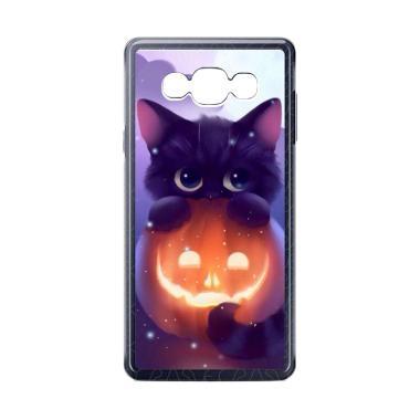 harga Acc Hp Halloween Cat L0018 Custom Casing for Samsung Galaxy A5 2015 Blibli.com