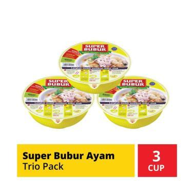 harga SUPER BUBUR Ayam Bubur Instan [Trio] Blibli.com