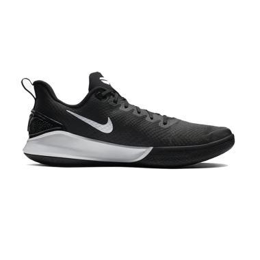 chaussures de sport 4a69c 1c360 NIKE Mamba Focus Sepatu Basket Pria 12 Black White