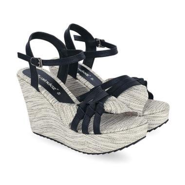 Raindoz RKM 036 Aqilah Casual Sepatu Wedges Wanita - Cream