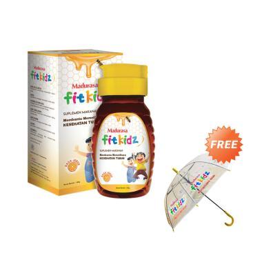 Madurasa Fitkidz Multivitamin Anak [Beli 3/ 140 g] + Free Payung