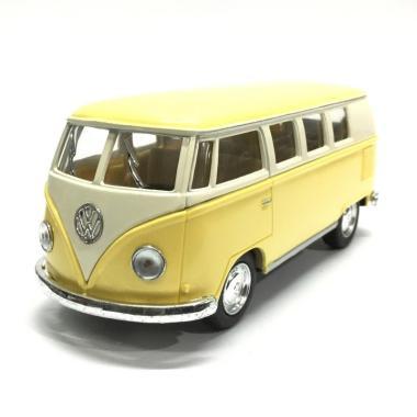 Kinsmart 1962 Volkswagen Classical Bus Diecast - Kuning [1 : 43]