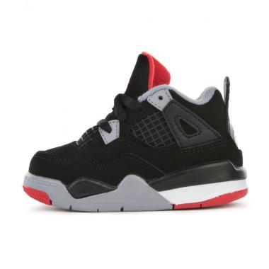 NIKE Air Jordan 5 Satin Black TD Toddler Kids Sepatu Sneaker Anak