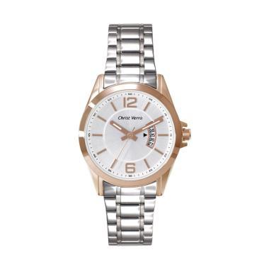 harga Christ Verra Men's Watches Jam Tangan Pria [CV 71105G-14 Slv] Blibli.com