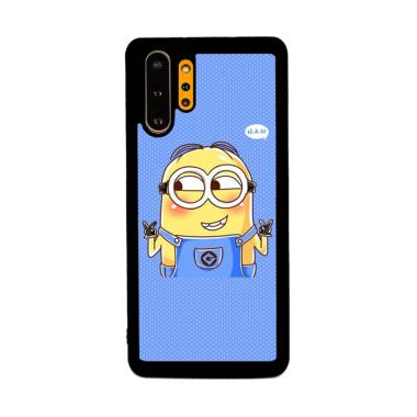 Cannon Case Minnon Blue Background P1277 Custom Hardcase Casing for Samsung Galaxy Note 10 Plus