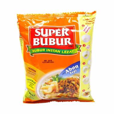 harga SUPER BUBUR Abon Sapi Bubur Instant [49 g] Blibli.com