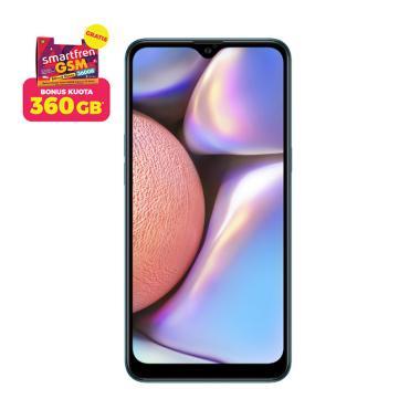 Samsung Galaxy A10s Smartphone [32GB/ 2GB] + Stater Pack SP Bosku Smartfren 360 GB