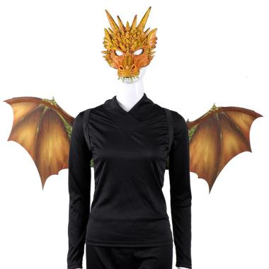 harga Bluelans Halloween Scary Animal Mask Wings Set Adults Party Cosplay Masquerade Props Blibli.com