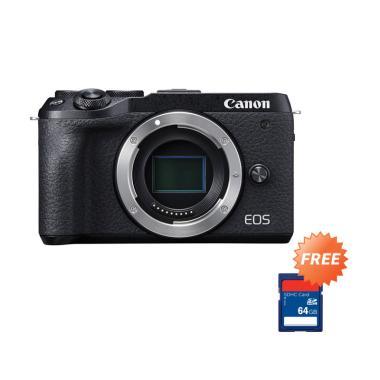 harga Pre Order - Canon EOS M6 Mark II Mirrorless Digital Camera [Body Only] + Free Memory SDHC 64 GB Blibli.com