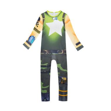 harga Kids Halloween Skeleton Fortnite Party Show Performance Cosplay Costume Bodysuit Ramirez Blibli.com