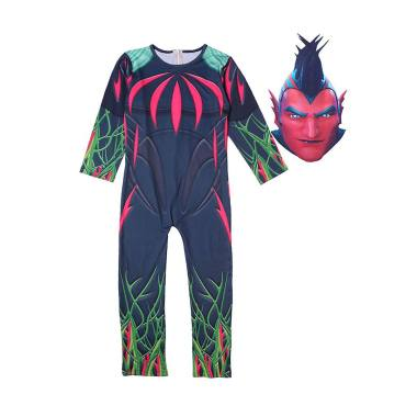 harga Kids Halloween Skeleton Fortnite Party Show Performance Cosplay Costume Bodysuit Flytrap Blibli.com
