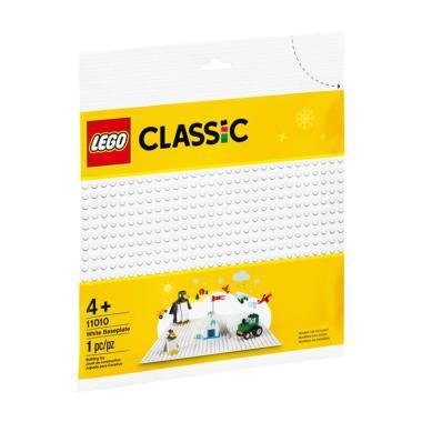 harga LEGO Classic 11010 White Baseplate Blocks & Stacking Toys Blibli.com