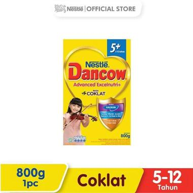 WHS - SMG/JOG/SOLO - Dancow Cokelat 5+ Susu Formula [800g/ Box]