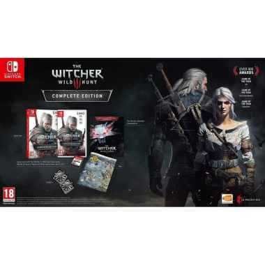 Nintendo Switch - NS Witcher 3: Wild Hunt Complete Edition (English) - Eur English