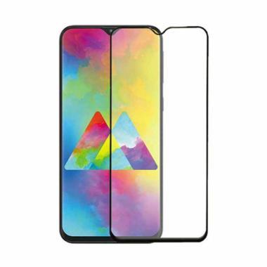 harga Violet Tempered Glass Screen Protector for Samsung M20 [5D/ Glossy Full Glue Black] Blibli.com