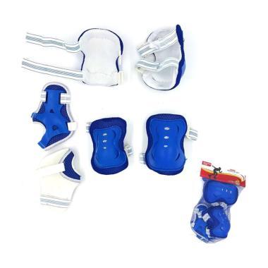 harga SPEEDS Deker Inline Skate / Pelindung Lutut Sikut Sepatu Roda Anak biru Blibli.com