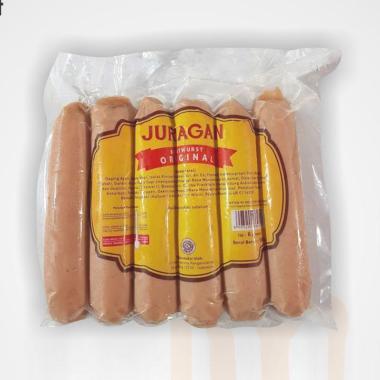 harga Juragan Sosis Ayam Original [14 cm/ 500 g/ 6 pcs] Blibli.com