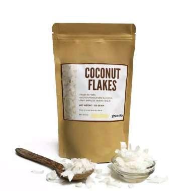 harga Granova - Organic Coconut Flakes / Kelapa Serut Kering [150 g] Blibli.com