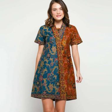 Andelly Batik 02 04 Dress Panjang Wanita