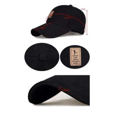 harga Promo Topi Baseball Golf Outdoor Ediko Snapback Pria Wanita Casual Hat - Cream Elegan Blibli.com