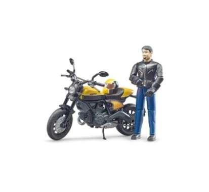 harga Bruder 63053 - bworld Scrambler Ducati Full Throttle with driver Blibli.com