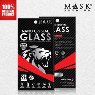 Mask Premium Anti Gores Xiaomi - Nano Crystal (REDMI NOTE 8/8 PRO/REDMI NOTE 9/9 PRO/PRO MAX/9S/POCO X2/K30/REDMI 9/MI NOTE 10 PRO/REDMI 8/8A) Clear List Black Xiaomi Mi Note 10 Pro