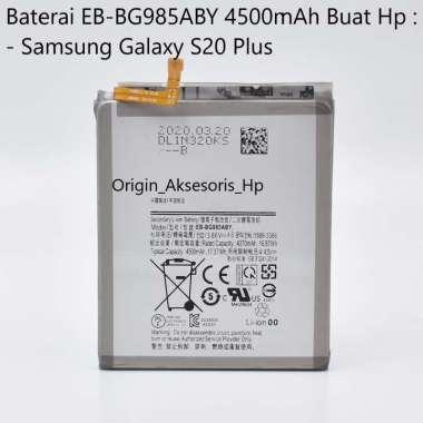harga Original Baterai EB-BG985ABY Buat Handphone Samsung Galaxy S20 Plus Blibli.com