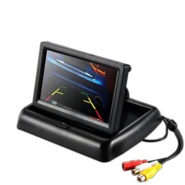 harga MONITOR LCD MOBIL DASHBOARD LIPAT hitam Blibli.com